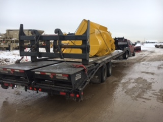 Freight-on-flatbed-hotshot-Bear-Country-Transportation