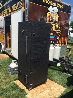 iron work smoker custom greeley colorado