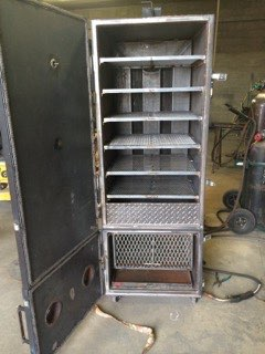 Custom-smoker-bear-country iron work fabrication greeley colorado