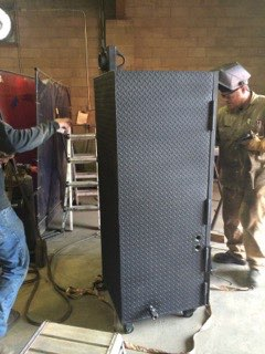 smoker custom fabrication iron work greeley colorado