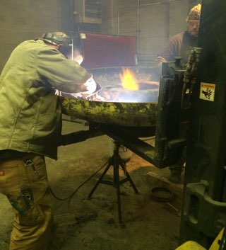 school of welding-greeley colorado bear country man